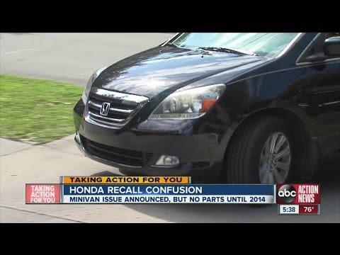 Honda issues recall