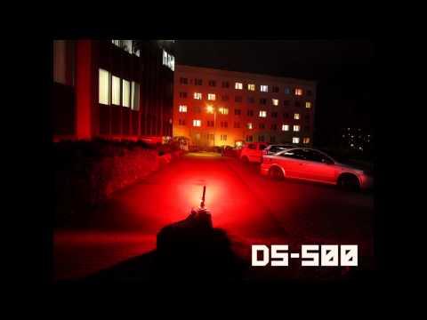DESIGNSHINE DS-500 TAIL LIGHT PREVIEW- VS MJ 818 - hellste LED Rückleuchte der Welt im Radsport.mp4
