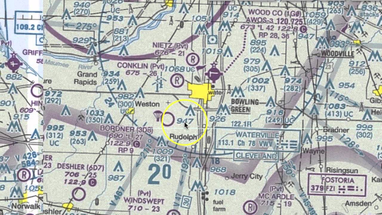VFR Sectional Chart Symbols You Should Know - YouTube