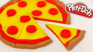 Play Doh Pizza How to Make Play Dough Food