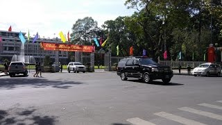 CSGT hộ tống đoàn xe của Thủ tướng Nguyễn Xuân Phúc - Police escorted Prime Minister convoy