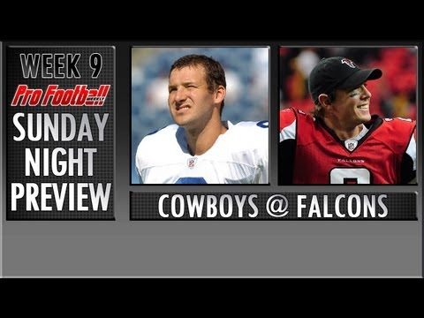 Week 8 NFL Preview: Dallas Cowboys @ Atlanta Falcons