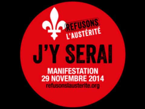 Manifestation  Refusons laustrit