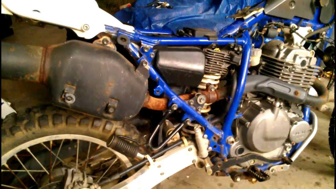 Suzuki Dr Gas Tank
