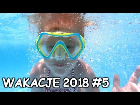 WAKACJE 2018 VLOG #5 SKOKI DO BASENU I HOTEL TOUR :) GRECJA