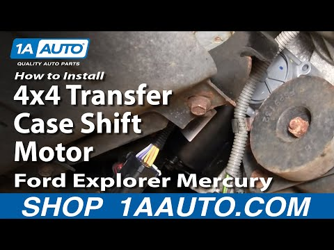 how to install replace 4x4 transfer case shift motor ford. Black Bedroom Furniture Sets. Home Design Ideas