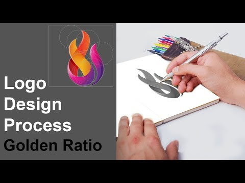 The Logo Design Process From Start To Finish - How to Design a logo (Sketching/Adobe Illustrator)