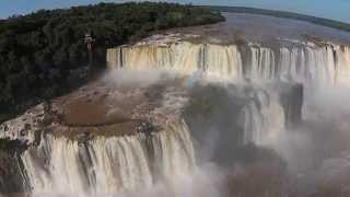 Iguazu Falls – Flythrough With A Phantom Drone