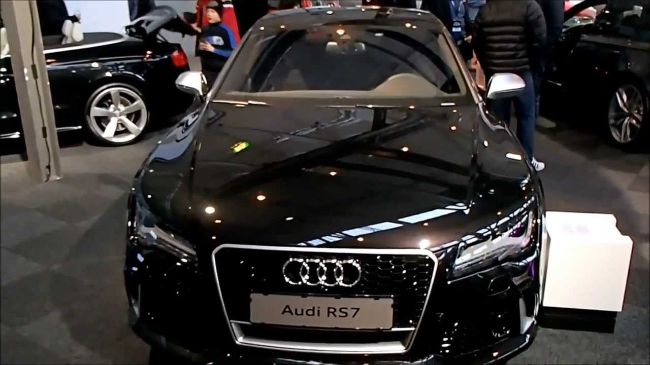 Audi Rs7 Panther Black Crystal Effect In Detail Youtube