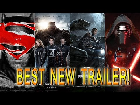 Best New Trailer: Batman v Superman, Fantastic Four, Jurassic World or Star Wars?