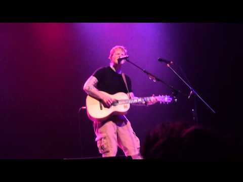 Thinking Out Loud - Ed Sheeran - Paramount Venue 7/5/14
