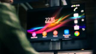Xperia Z Promo Video hands on Full HD smartphone from Sony CES 2013