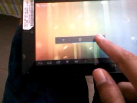 Unboxing do tablet cce motion t735