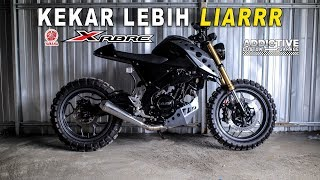 YAMAHA XABRE CUSTOM TRACKER || #ADDICTIVEGARAGE