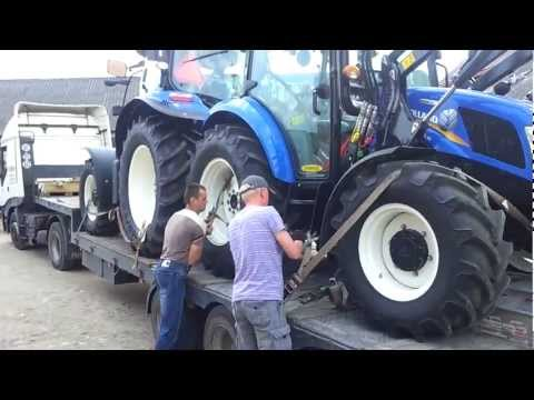 New Holland powerstar t 4.55 & t 6050 plus nowy nabytek wiosna 2012