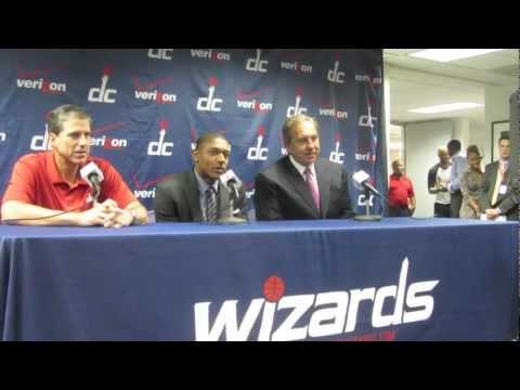 Bradley Beal Press Conference with the Washington Wizards