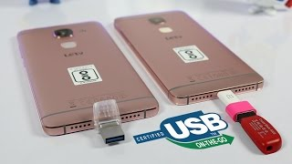 LeEco Le 2 and Le Max 2 USB OTG Support test - Which will work ?