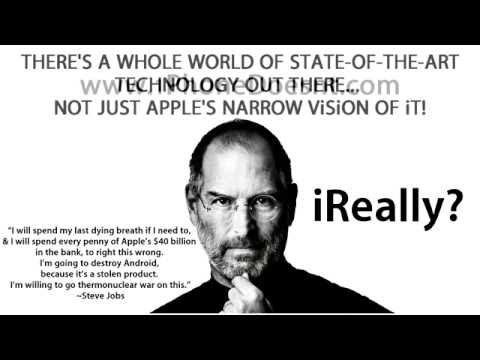 Steve Jobs vowed to destroy Google Android!