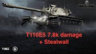 World of tanks xbox one - T110E5 7.8k damage