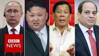 Why does President Trump admire strongmen leaders? BBC News