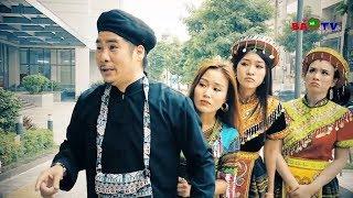 Hài tết 2019 | Anh Tọc Đưa 3 Bà Vợ Xuống Phố | Phim Hài Tết Mới Nhất 2019 - Cười Vỡ Bụng