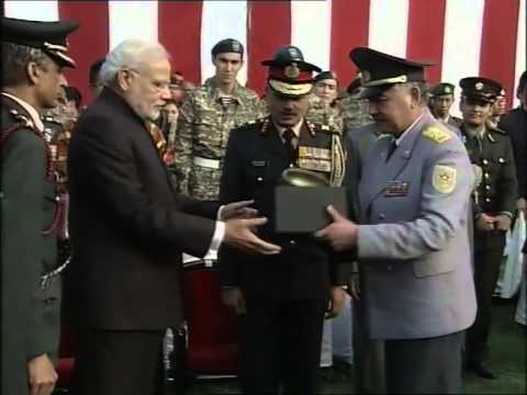 PM Narendra Modi meets NCC and NSS Cadets