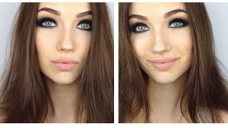 Smokey Eye Makeup Tutorial ♡ Black&Brown ♡ Смоки Айс