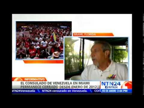 Venezolanos en Florida piden a John Kerry que intervenga para que reabran el consulado en Miami