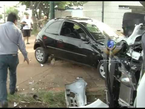 Acidente em vias do bairro Umuarama assustam moradores