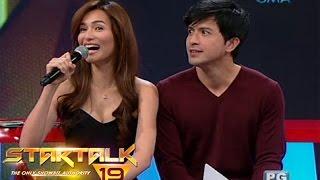 Startalk: Oo o hindi with Dennis Trillo and Jennylyn Mercado