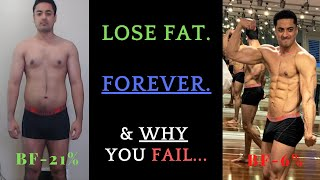 Lose Fat. FOREVER. (& WHY you Fail…)