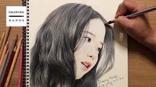 Speed Drawing IU [Drawing Hands]