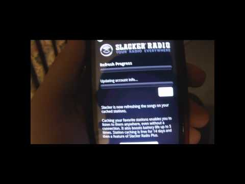 Slacker Radio Walkthrough [Android]