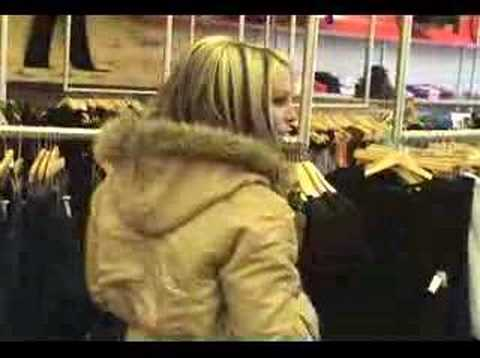 Talia Madison Velvet Sky at National Jean fitting Walkaways.