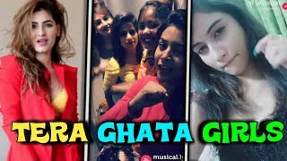 ISME TERA GHATA MERA KUCH NAHI JATA || MUSICALLY 4 GIRL SINGING TERA GHATA || GAREEB