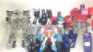 Video Review of the Transformers Cyclonus Universe Classic 2 0 Generations Hasbro RUS