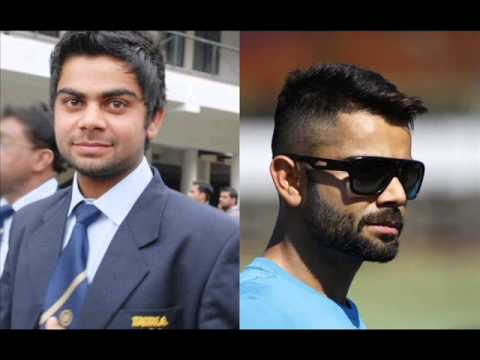 Photos Of Indian Cricketers Then And Now