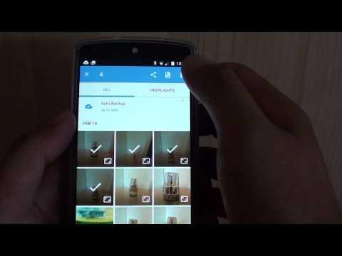 Google Nexus 5: How to Copy Photos to an Album