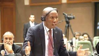 Julius Malema Lectures Pan-African Parliament