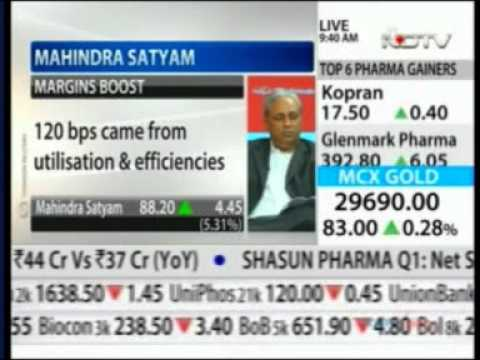 Mahindra Satyam Q1 Results - Mr. C P Gurnani & Mr. Vineet Nayyar - NDTV Profit