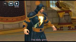 DC Legends - all blue team and Black Adam fun