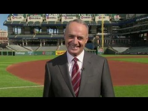 MLB commissioner Manfred on the World Series