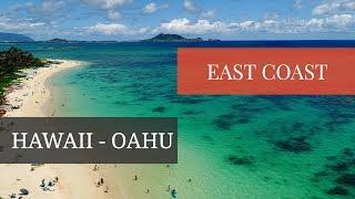 EXPLORE OAHU HAWAII - Best Of East Coast Filmed With Drone