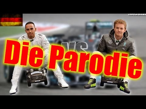 F1 2014 | Hamilton vs Rosberg [PARODIE] - German/HD