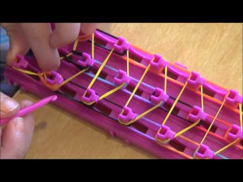 How to make a crazy loom bracelet waterfall