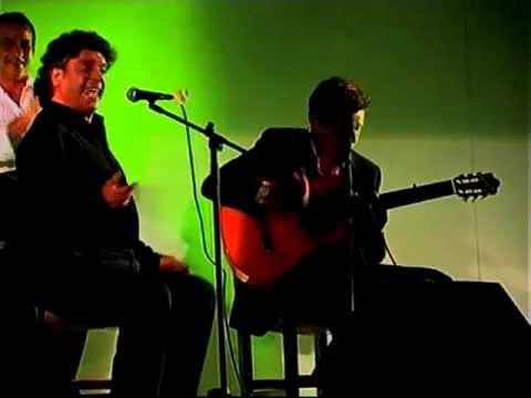 Manuel de Paula por Bulerías con Pedro Sierra - Lebrija Caracolá 07 FLAMENCO