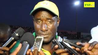 Interview de Moustapha Seck d'après match Sénégal-Guinée (3-1)