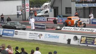 Drag Racing at Santa pod Dragstelgia