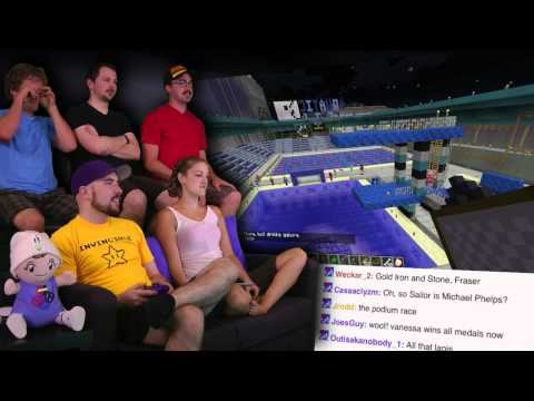 Aquatics! - Minecraft AWESOME! 2012 Olympics! - Part 5