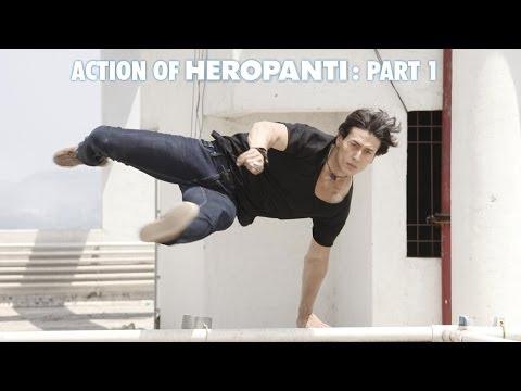 Action Of Heropanti (part 1) | Tiger Shroff, Kriti Sanon video